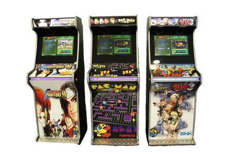 Máquinas Arcade, Video Jogos Arcade