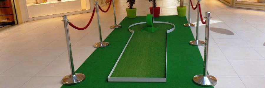 Pistas de Mini Golfe